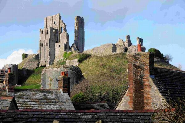 Watch real life archaeological dig at Corfe Castle –
