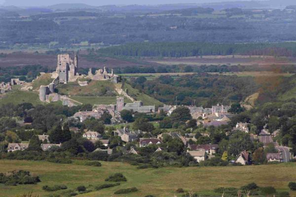 SEEING STARS: Corfe Castle is the venue for the open air cinema event