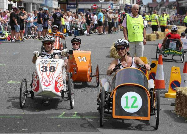 THEY'RE OFF!: The British Pedal Car Grand Prix in Ringwood