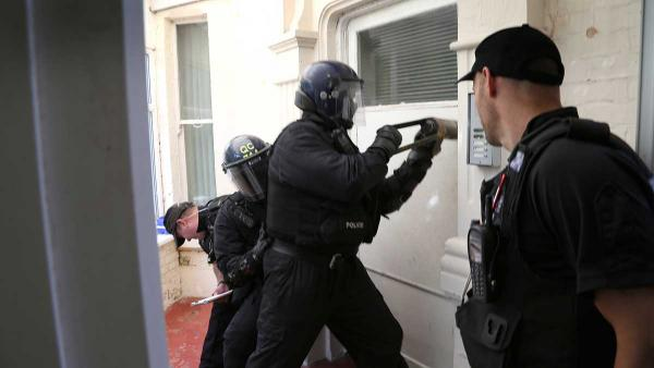 VIDEO: 16 arrested after police storm homes in series of drug raids