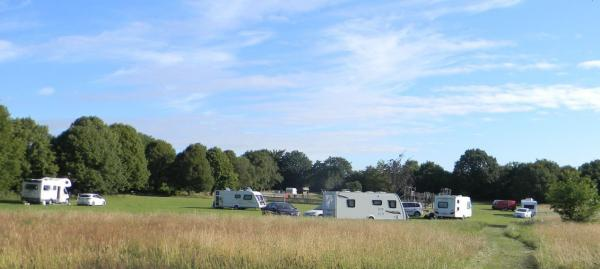 Travellers at Kinson Common