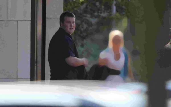 SENTENCED: Ryan Beeke arriving at Bournemouth Crown Court