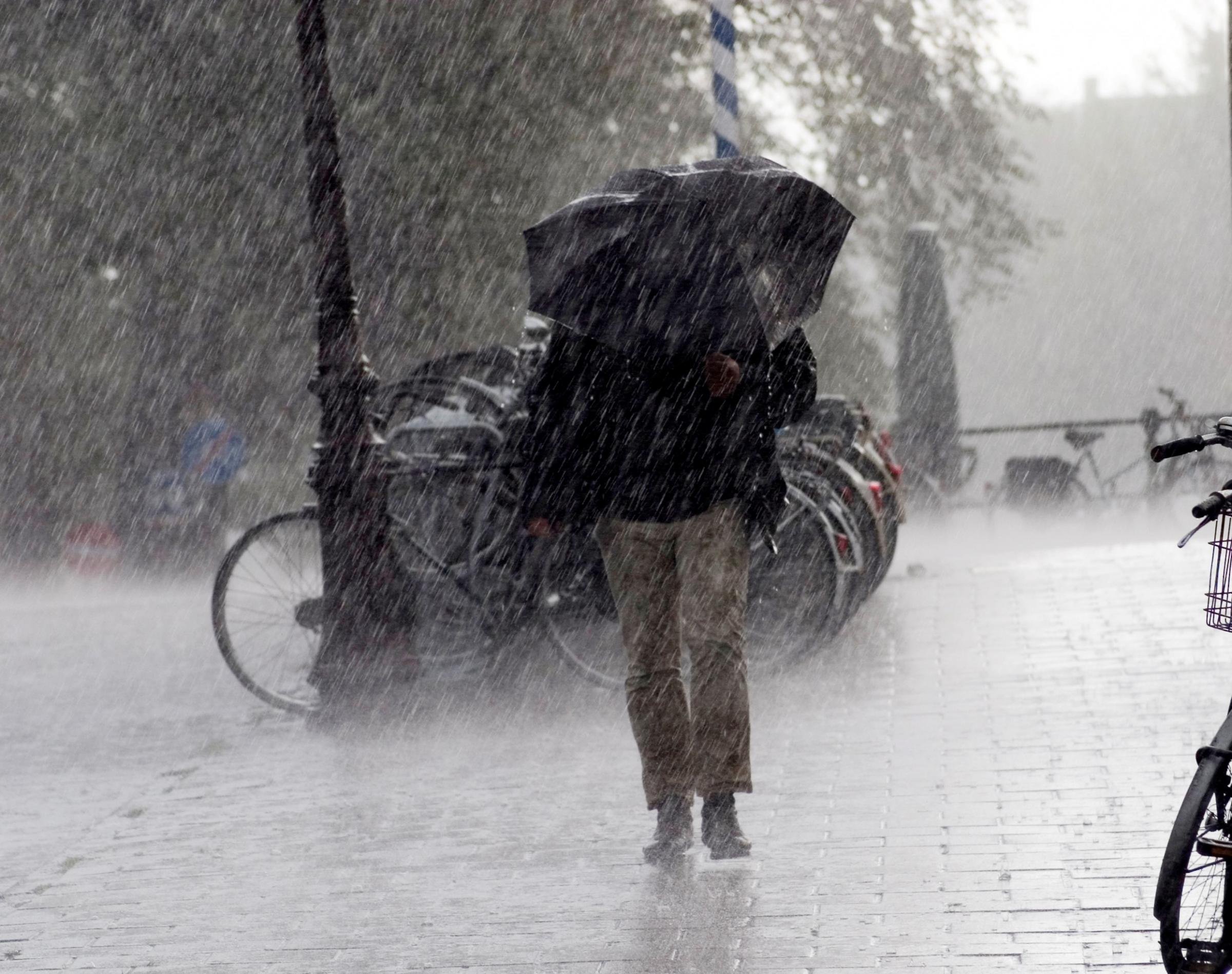 Brollies at the ready: Met Office issues yellow warning for heavy rain and thunderstorms