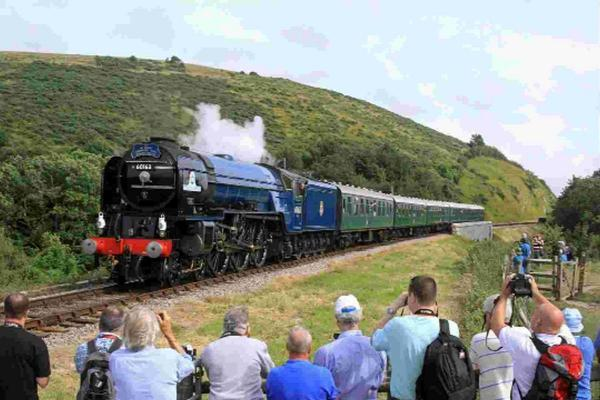 Visitors flock to help Swanage Railway celebrate 35 years since first passenger train took to track