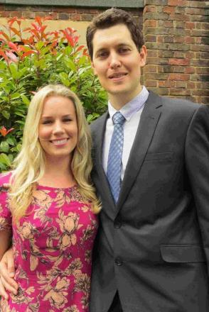 QUALIFIED: Pastor Daniel Thompson, of the Seventh Day Adventist Church in Winton, and wife Hilary