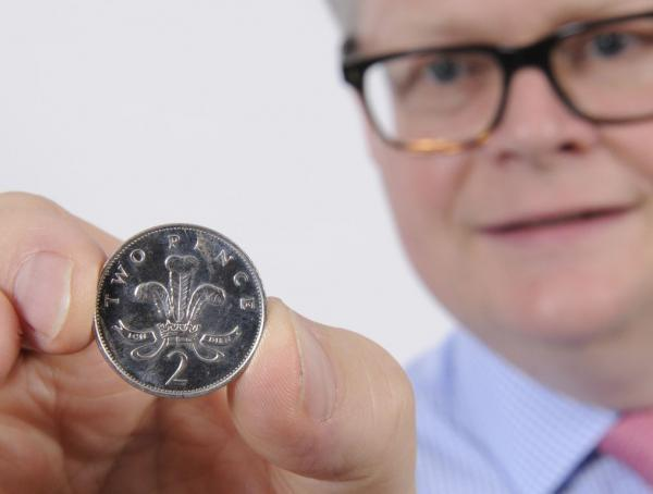 Silver 2p coin could fetch up to £200 at auction - but owner once could have made £2,000