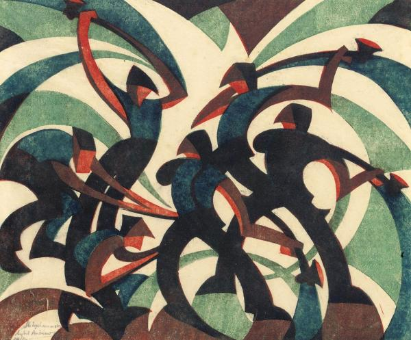 Coming to a new audience - the work of modernist printmaker Sybil Andrews
