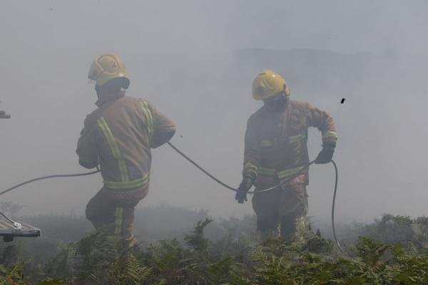 VIDEO: Hengistbury Head heath fire 'believed to be started deliberately'