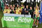 VOLUNTEERING: Children from St James' Primary School join sports leaders from Avonbourne and Harewood colleges for their Asda Active Sports Day