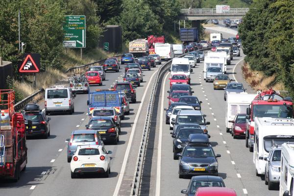 Two car crash on A31 causes delays