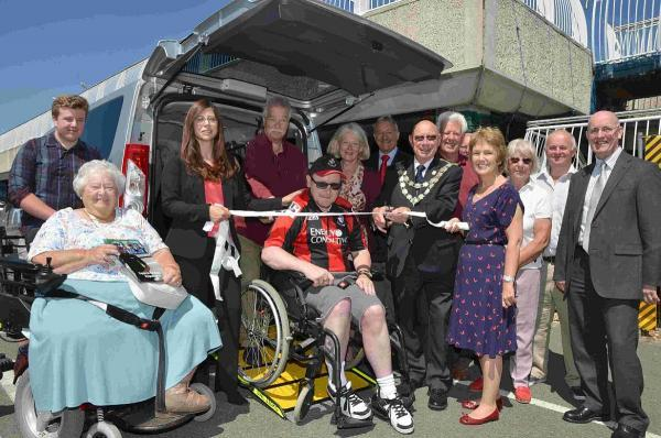 New vehicle helping wheelchair users in Bournemouth get out and about