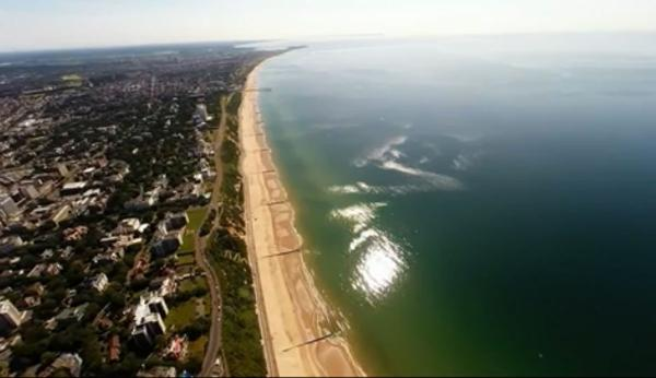 VIDEO: Amazing footage of Bournemouth seafront as you've never seen it before