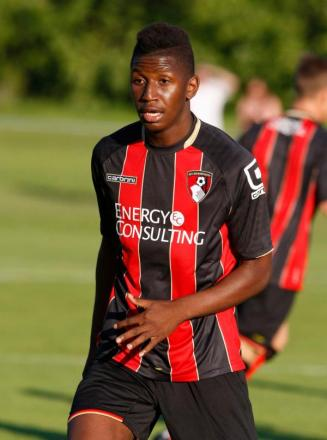 NEW BOY: AFC Bournemouth's Aly Coulibaly