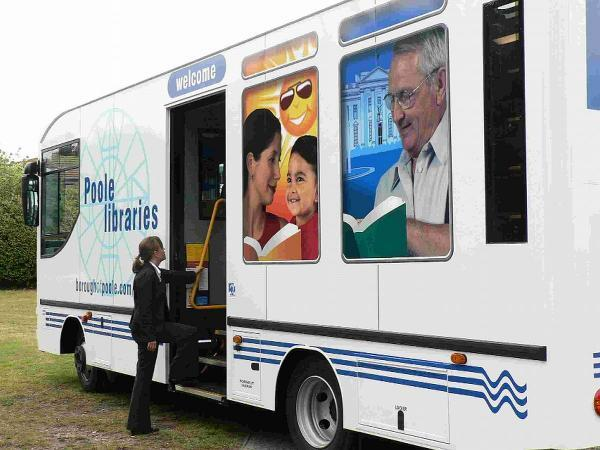 SOCIAL MEETING PLACE: Residents want to keep mobile library