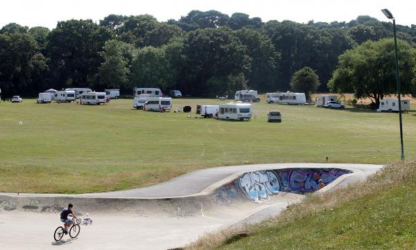 "VIDEO: MP's anger over ""intimidating"" and ""offensive"" behaviour from travellers camp"