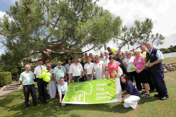 HAPPY: Poole celebrates Green Flag success as three parks in the borough have been awarded the sought after national award