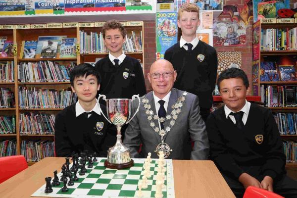 Harewood College are chess champions again