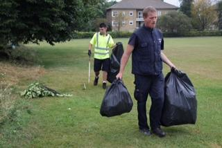 Travellers move to Turlin Moor but leave 'large' amount of rubbish and waste at Slades Farm