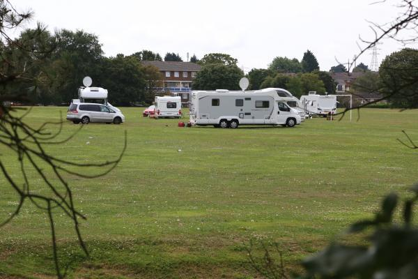 Poole council begin legal process to evict travellers from Turlin Moor