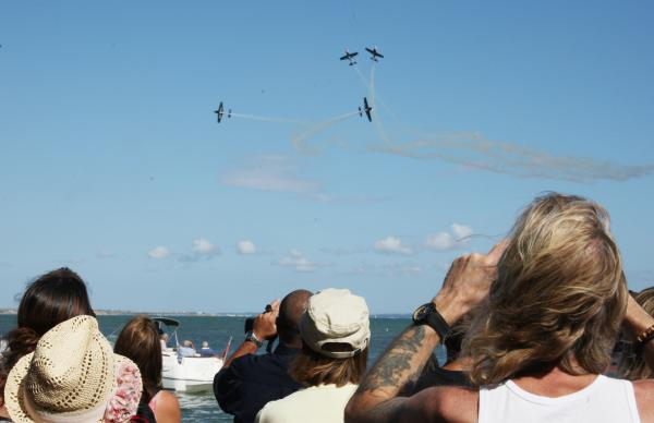 VIDEO AND GALLERY: Thousands flock to Mudeford RNLI Fun Day