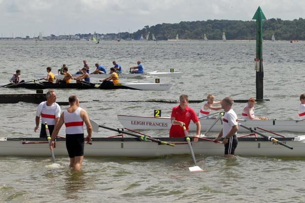 Video and gallery: Rowing clubs battle for supremacy at Poole Regatta