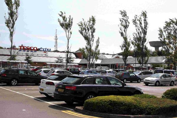 Tesco Extra at Tower Park in Poole
