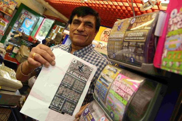 Mystery Poole man scoops £4million jackpot on scratchcard - the biggest UK win ever