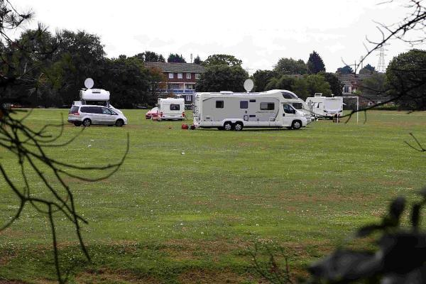 Council obtain order to evict travellers from Turlin Moor as site left in 'poor' condition