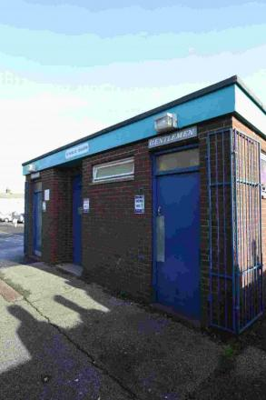 SHUT: Jubilee Road toilets