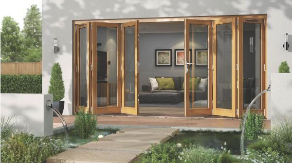 Let more light into your home with bi-fold doors