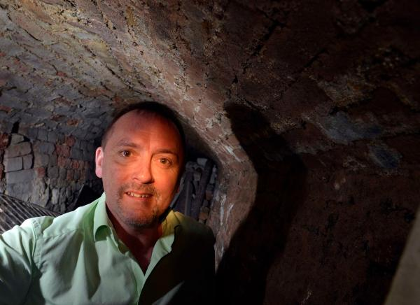 Uncovered: hidden tunnel where the infamous Judge Jeffreys walked more than 400 years ago