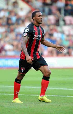 DEBUT DELIGHT: Cherries striker Callum Wilson