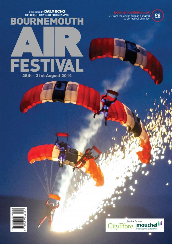 Bournemouth Air Festival guide 2014 : where to buy your copy