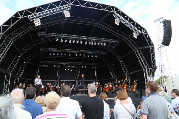 Bournemouth Symphony Orchestra performs classic movie scores at Pier Approach