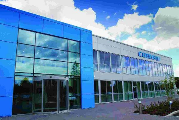 DIVERSE: Cobham PLC's head office in Wimborne
