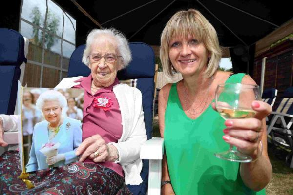 """Independent and inspirational"" – surprise party held for special centenarian Florence"