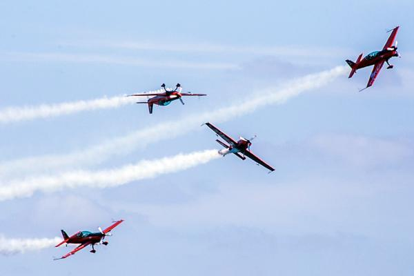 The Blades at last year's Air Festival