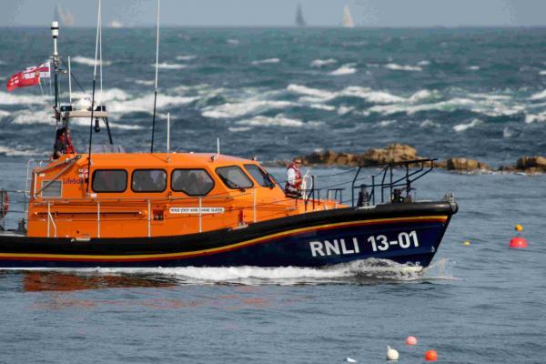 Swanage lifeboat launched in search for missing father and son