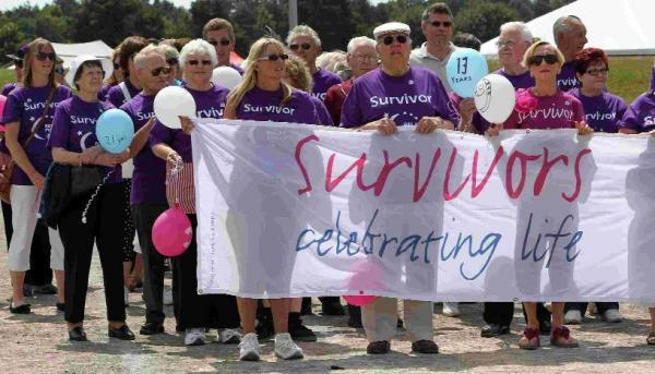 The annual Relay for Life in aid of Cancer Research UK takes place at Ferndown Leisure Centre