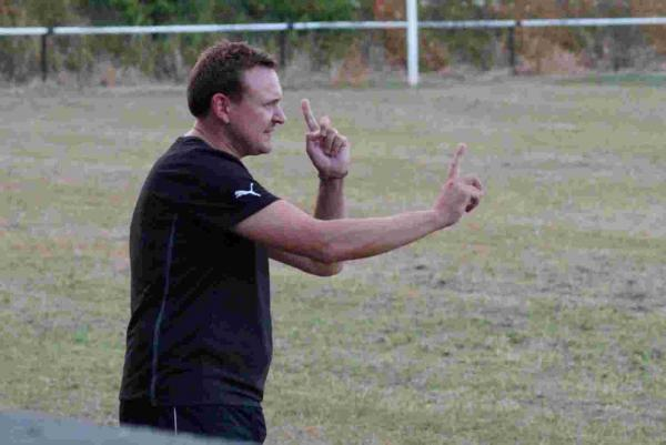 IN CHARGE: Swanage Town & Herston boss Alan Lay