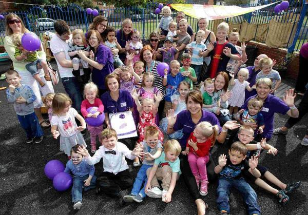 """Outstanding"" nursery celebrates 10th birthday with special party"