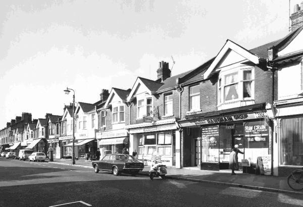 Charminster Road, Bournemouth, in 1972