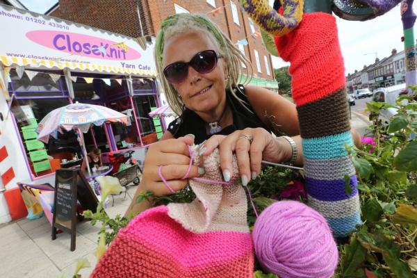 Knitting therapy: meet the inspirational founder of a Dorset knitting cafe