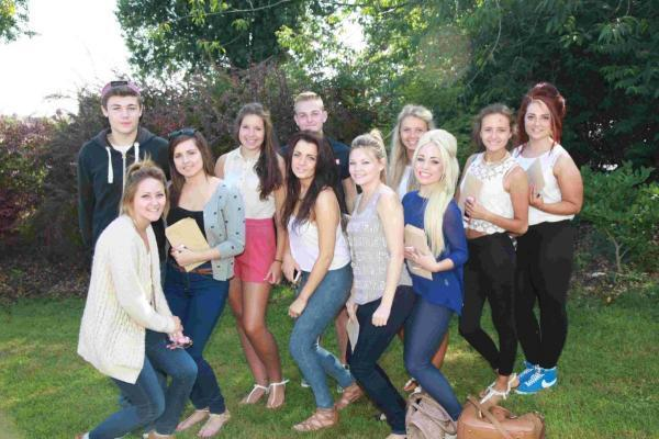 Poole High students celebrate their 2013 results