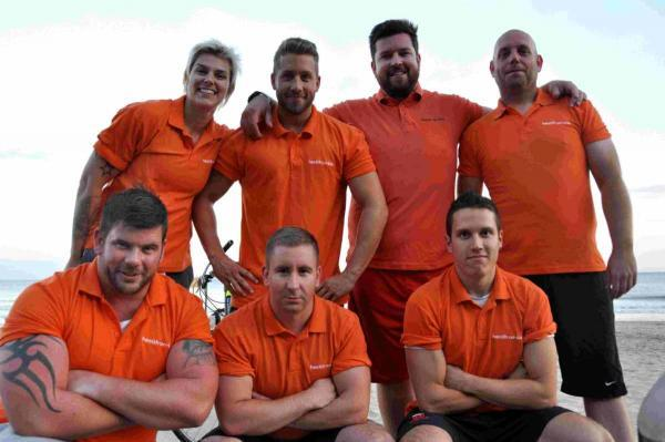 On the pull: workmates set to tug Boeing 737 to raise money for charity