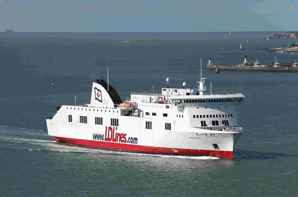 CLOSURE: The Norman Asturias, which provides the Poole to Santander, North Spain, service