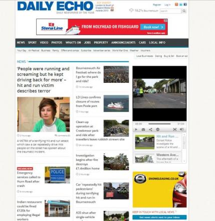 Welcome to your new look Bournemouth Echo website: see what we've changed