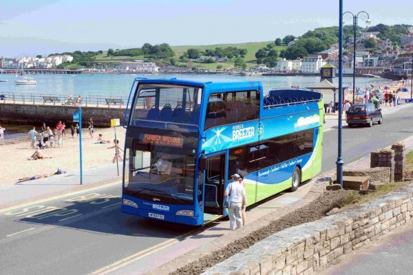 LIFE'S A BREEZE:  The Purbeck Breezer in Swanage