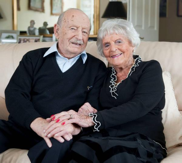 Married 80 years today - meet Maurice, 102, and his wife Helen, 101