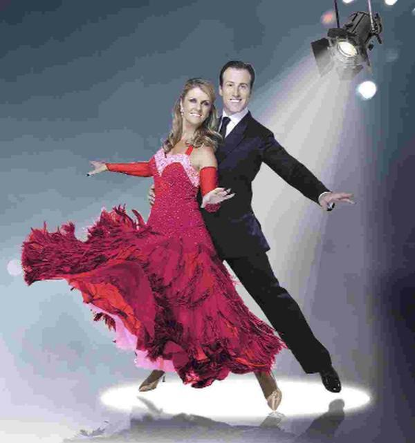 It's Anton and Erin! Strictly favourites waltz back into town